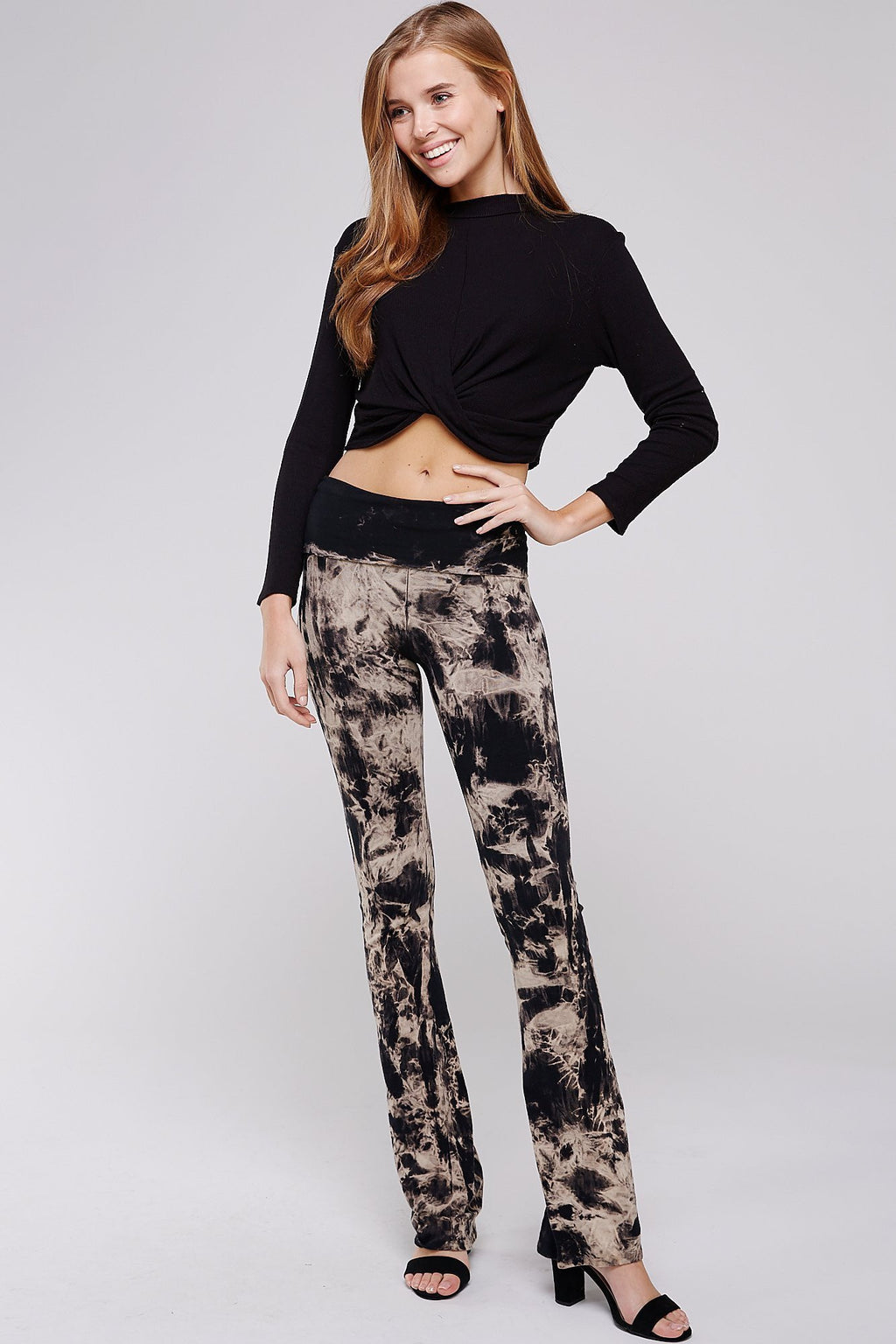 Wholesale Clothing, Online Wholesale Clothing, Women Clothing, Bohemian, Free People, tiedye, specialty wash, wholesale seller, wholesale women clothing shop, gypsy look, USA made, URBAN X APPAREL-PANTS-UPC3009B, fashiontrend2019