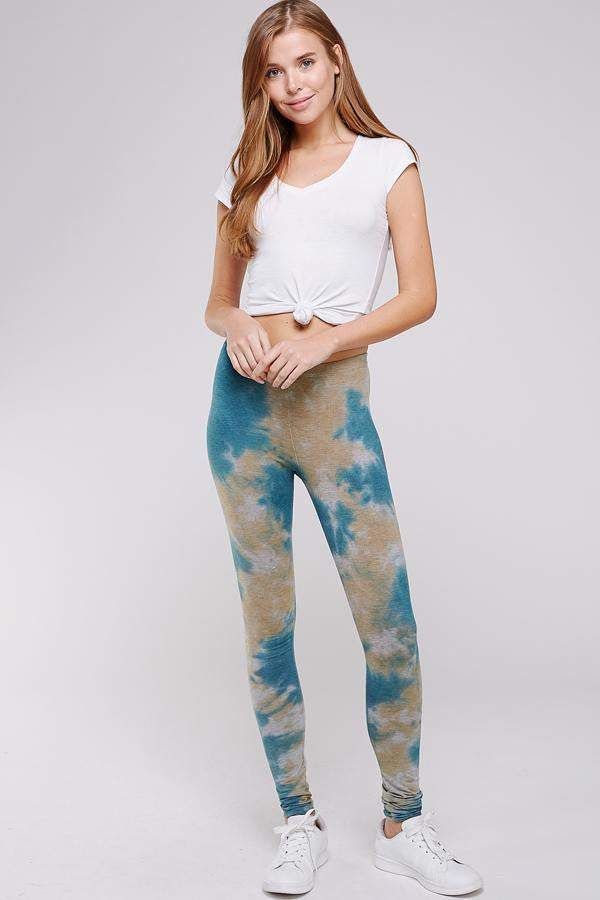 Wholesale Clothing, Online Wholesale Clothing, Women Clothing, Bohemian, Free People, tiedye, specialty wash, wholesale seller, wholesale women clothing shop, gypsy look, USA made, URBAN X APPAREL-LEGGINGS-UPC3099CG, fashiontrend2019
