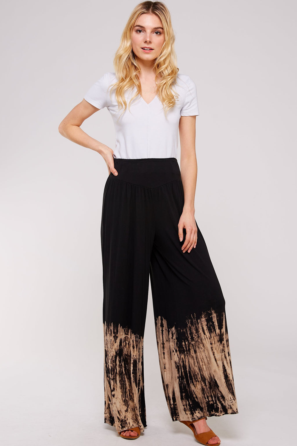 Wholesale Clothing, Online Wholesale Clothing, Women Clothing, Bohemian, Free People, tiedye, specialty wash, wholesale seller, wholesale women clothing shop, gypsy look, USA made, URBAN X APPAREL-PANTS-UPR3103BM, fashiontrend2019