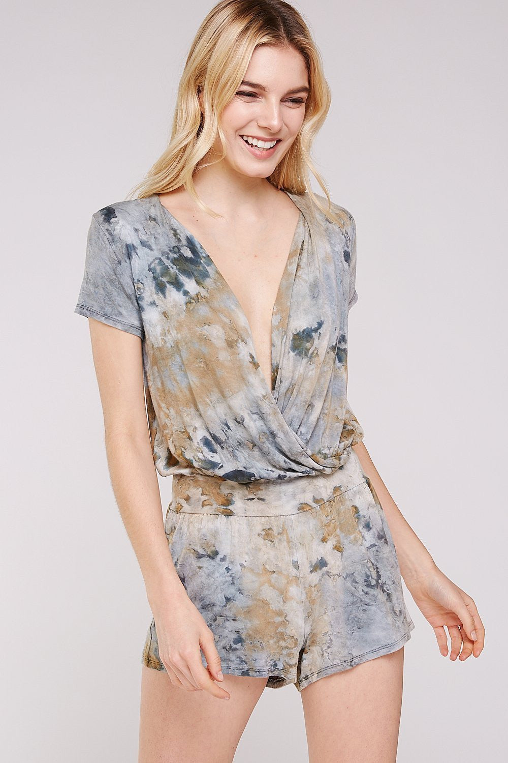 Wholesale Clothing, Online Wholesale Clothing, Women Clothing, Bohemian, Free People, tiedye, specialty wash, wholesale seller, wholesale women clothing shop, gypsy look, USA made, URBAN X APPAREL-ROMPERS-URP9720, fashiontrend2019