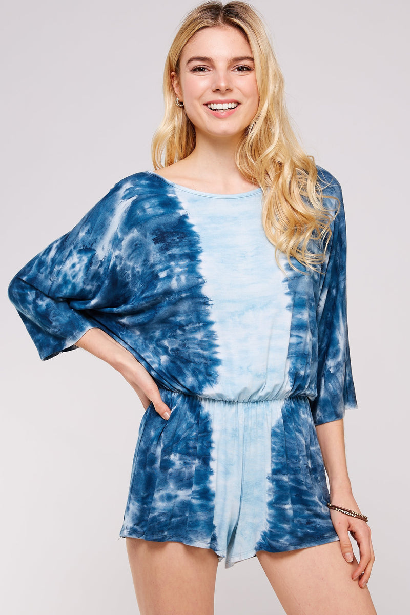 Wholesale Clothing, Online Wholesale Clothing, Women Clothing, Bohemian, Free People, tiedye, specialty wash, wholesale seller, wholesale women clothing shop, gypsy look, USA made, URBAN X APPAREL-ROMPERS-URP9902A, fashiontrend2019