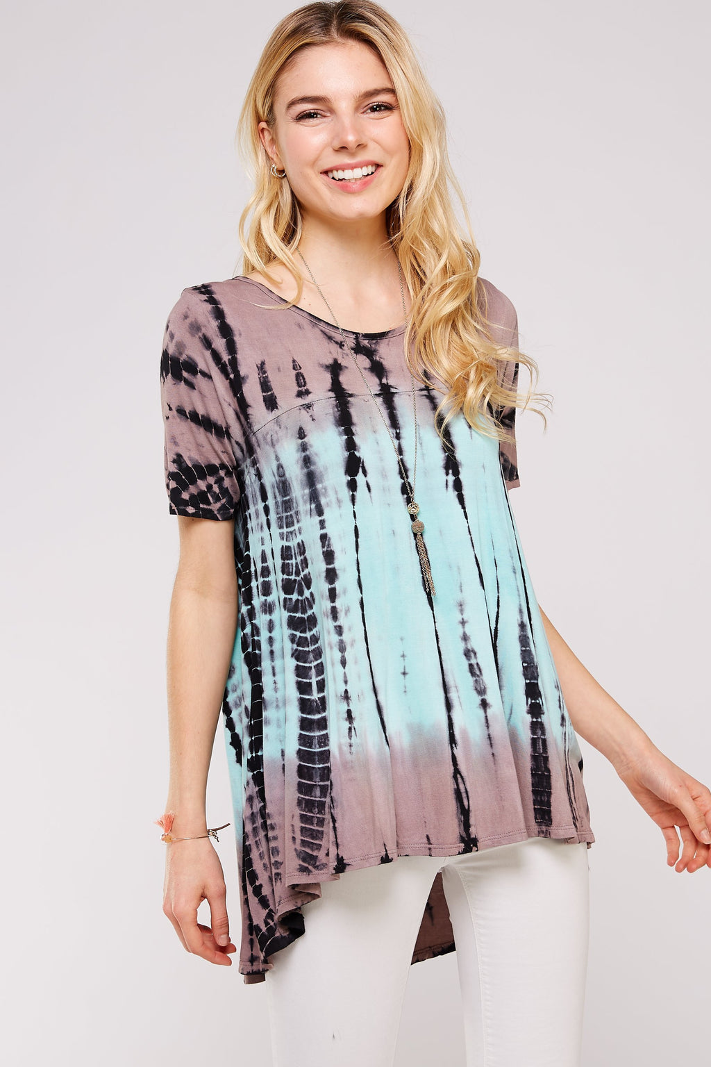 Wholesale Clothing, Online Wholesale Clothing, Women Clothing, Bohemian, Free People, tiedye, specialty wash, wholesale seller, wholesale women clothing shop, gypsy look, USA made, URBAN X APPAREL-TIE DYE-UTR5221, fashiontrend2019