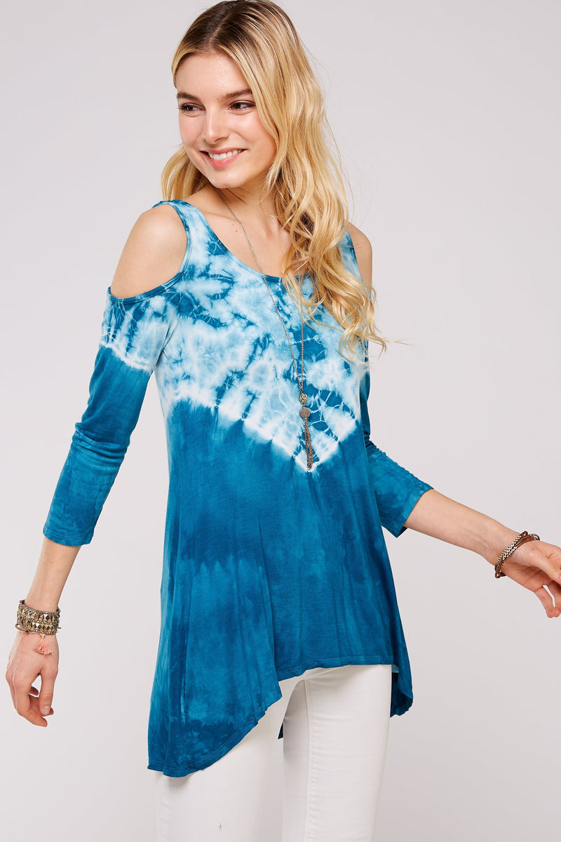 Wholesale Clothing, Online Wholesale Clothing, Women Clothing, Bohemian, Free People, tiedye, specialty wash, wholesale seller, wholesale women clothing shop, gypsy look, USA made, URBAN X APPAREL-TIE DYE-UTR5230, fashiontrend2019