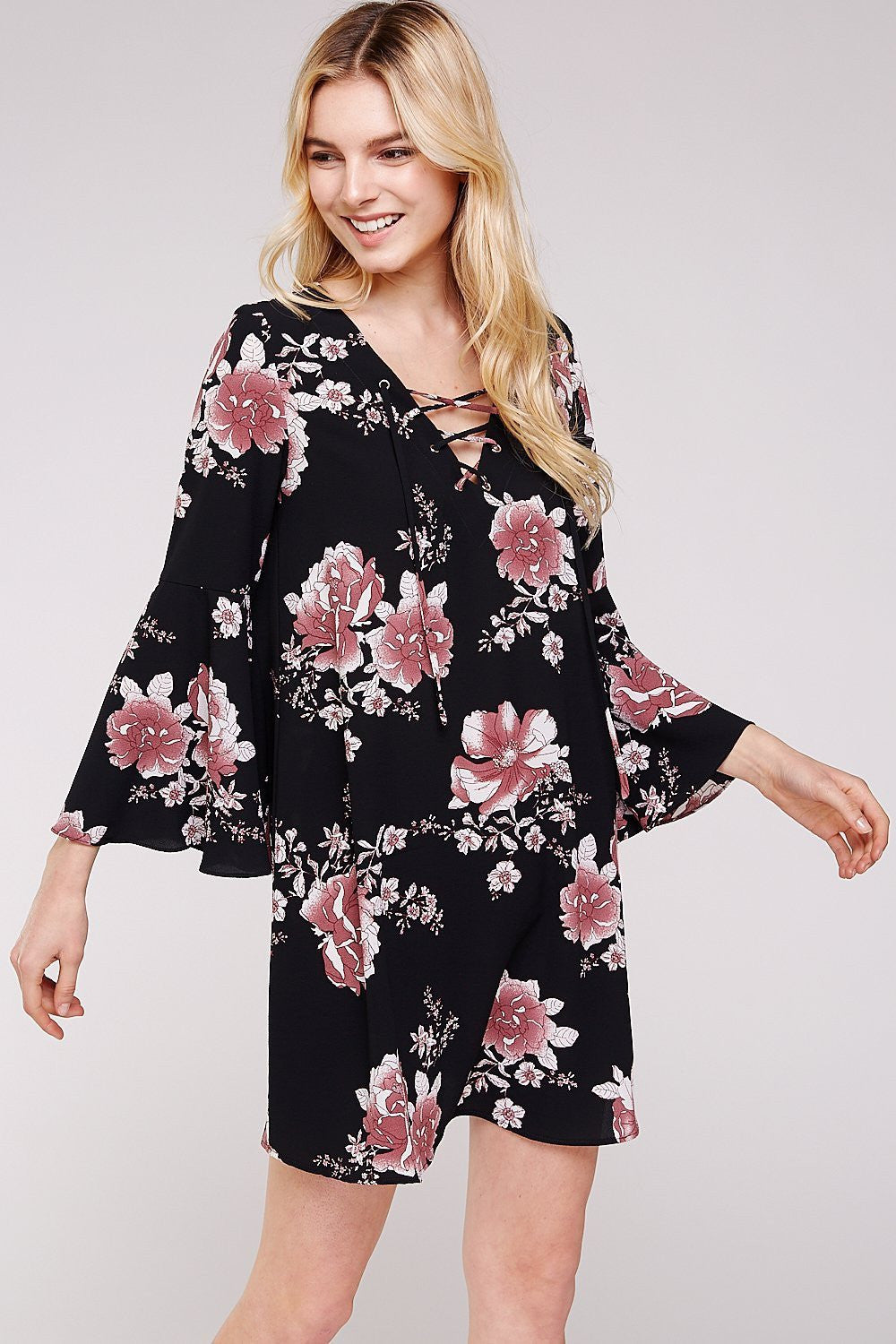 Wholesale Clothing, Online Wholesale Clothing, Women Clothing, Bohemian, Free People, tiedye, specialty wash, wholesale seller, wholesale women clothing shop, gypsy look, USA made, URBAN X APPAREL-FLORALS-UDW2001, fashiontrend2019