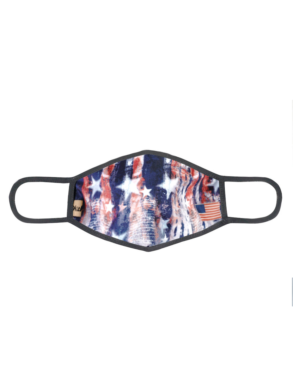 urban x apparel, urban x clothing, urbanxapparel, urbanxclothing, wholesale, women clothing, bohemian, free people, free spirit, young contemporary, fashion trend, fashion style, fashion 2019,RETAIL, White blue star strips print Washable and Reusable Face Mask, URBAN X APPAREL