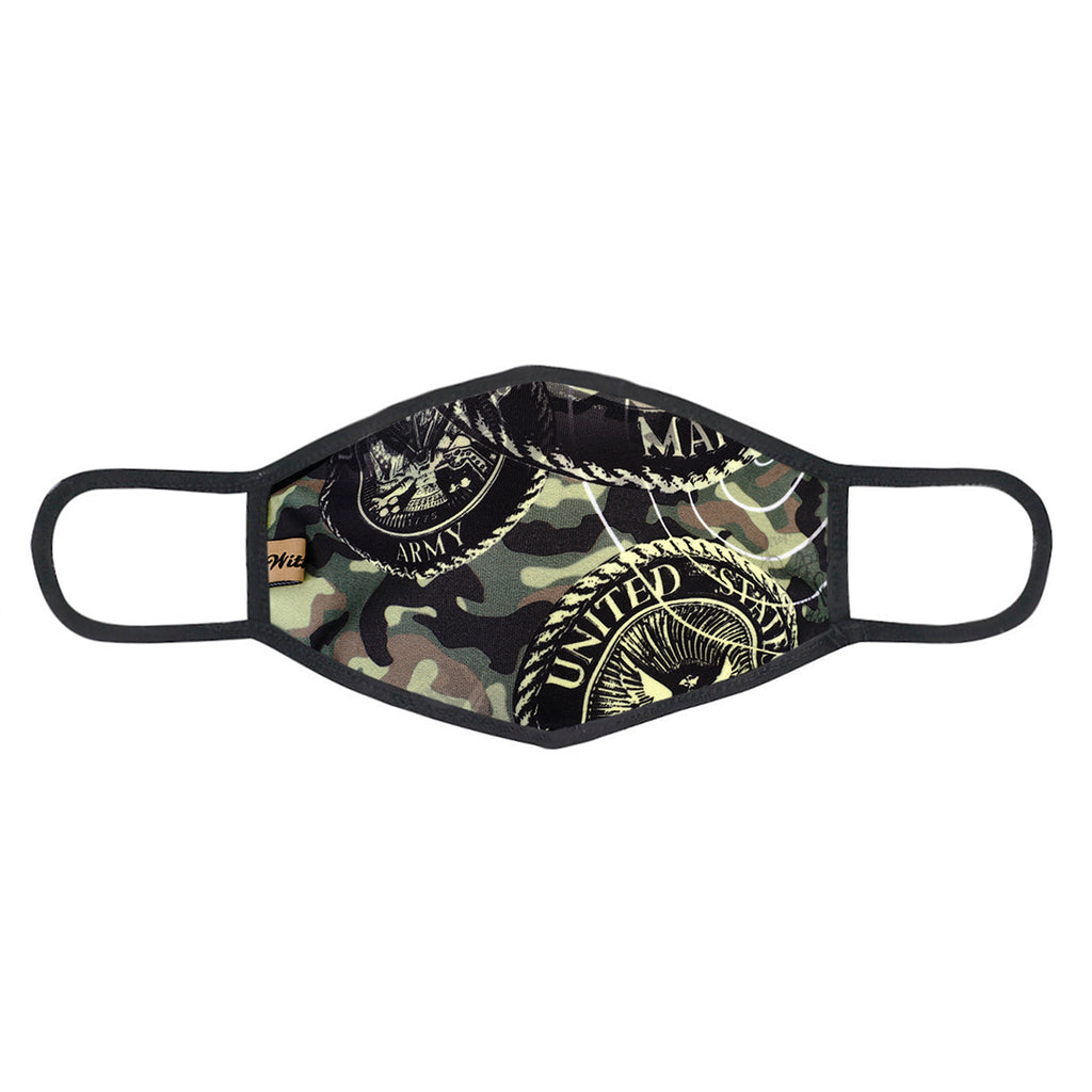 urban x apparel, urban x clothing, urbanxapparel, urbanxclothing, wholesale, women clothing, bohemian, free people, free spirit, young contemporary, fashion trend, fashion style, fashion 2019,RETAIL, Urban X USA Army Marine Camouflage Print Washable and Reusable Fashion Face Mask (UXM0086), URBAN X APPAREL