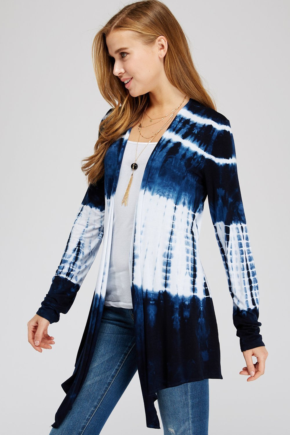 Wholesale Clothing, Online Wholesale Clothing, Women Clothing, Bohemian, Free People, tiedye, specialty wash, wholesale seller, wholesale women clothing shop, gypsy look, USA made, URBAN X APPAREL-CARDIGANS-UCR3160N, fashiontrend2019