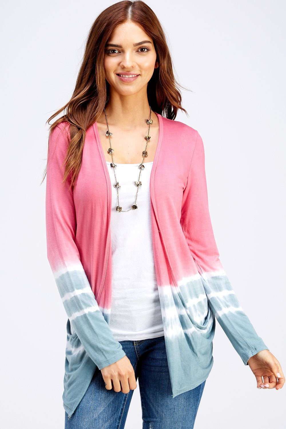 Wholesale Clothing, Online Wholesale Clothing, Women Clothing, Bohemian, Free People, tiedye, specialty wash, wholesale seller, wholesale women clothing shop, gypsy look, USA made, URBAN X APPAREL-CARDIGANS-UCR3187PG, fashiontrend2019