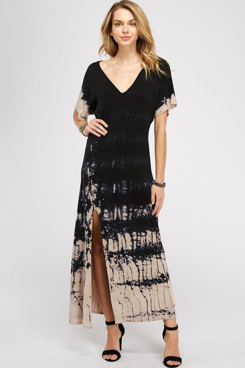 Wholesale Clothing, Online Wholesale Clothing, Women Clothing, Bohemian, Free People, tiedye, specialty wash, wholesale seller, wholesale women clothing shop, gypsy look, USA made, URBAN X APPAREL-DRESSES-UDR195BB, fashiontrend2019