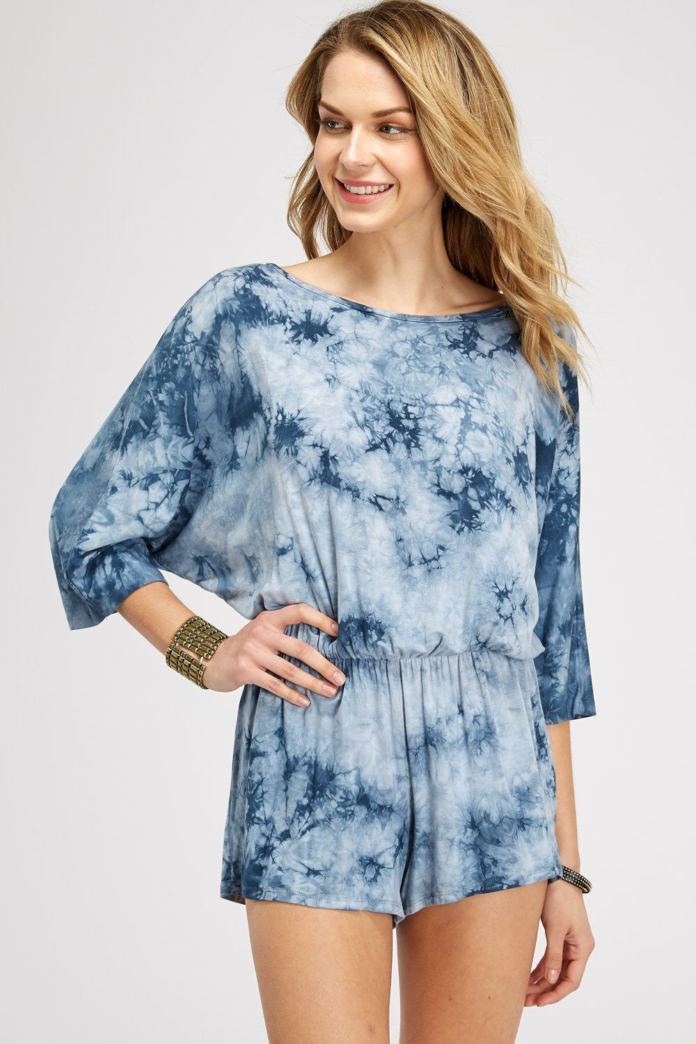 Wholesale Clothing, Online Wholesale Clothing, Women Clothing, Bohemian, Free People, tiedye, specialty wash, wholesale seller, wholesale women clothing shop, gypsy look, USA made, URBAN X APPAREL-ROMPERS-URP9902B, fashiontrend2019