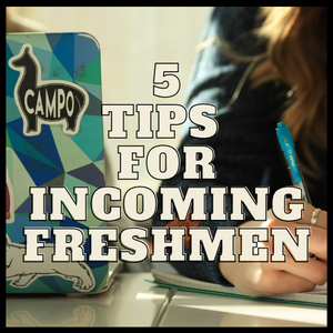 5 Tips for Incoming Freshmen