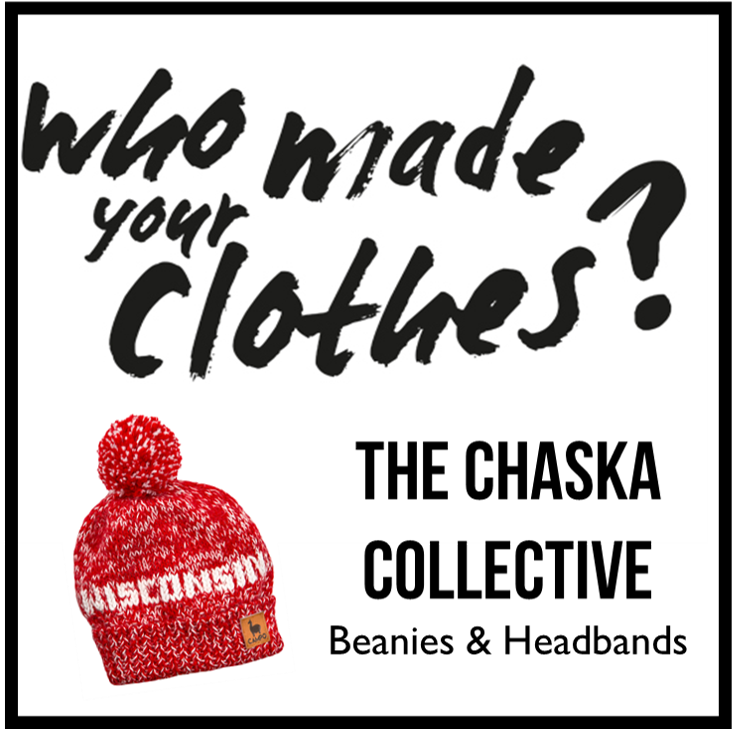 Who Made Your Clothes?  Beanies & Headband - Chaska