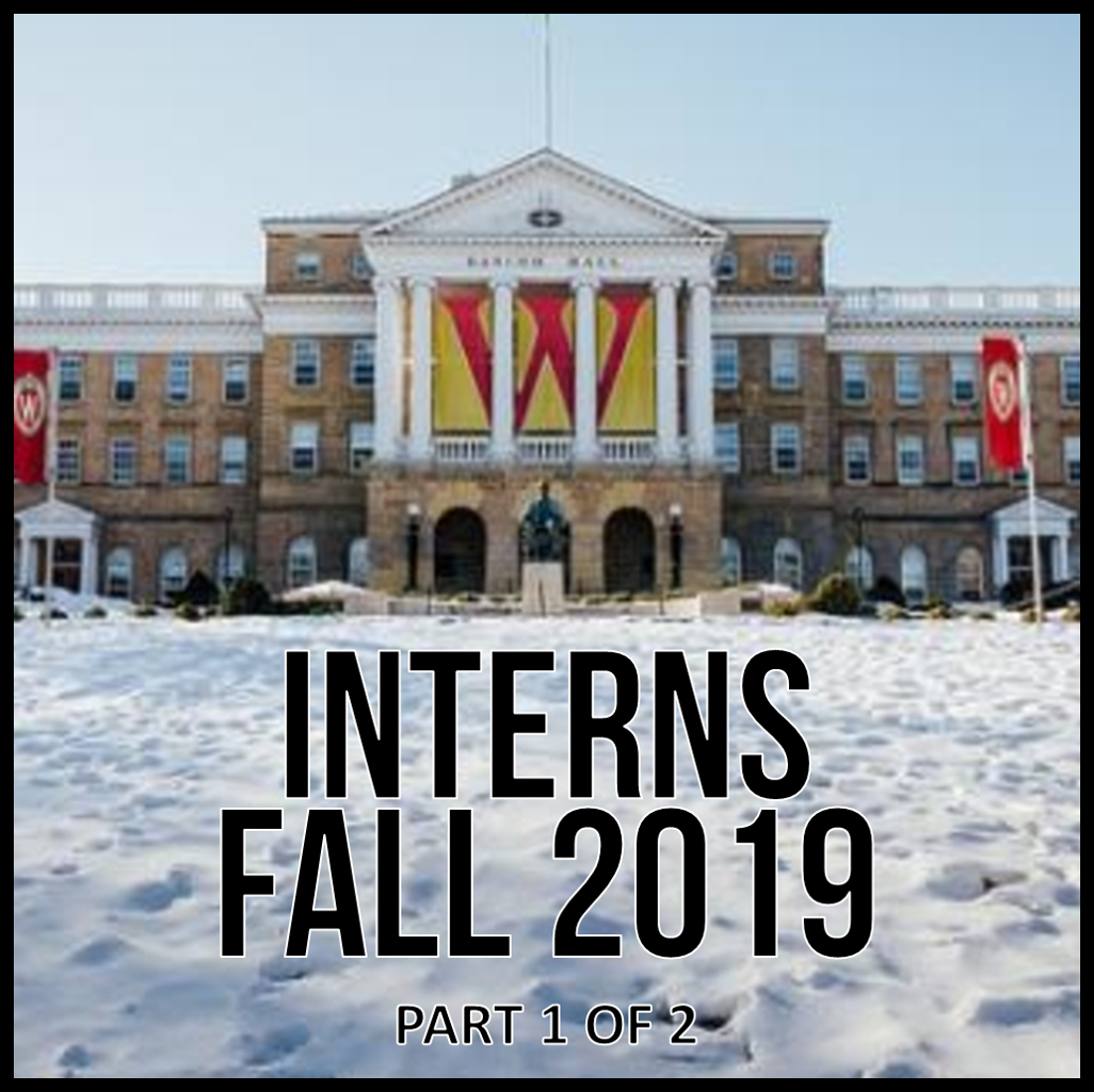 12DoT - Interns Fall 2019 Part 1 of 2