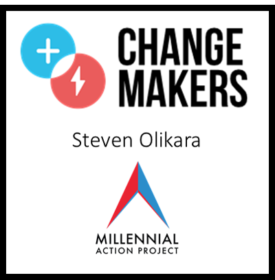 + ChangeMakers:  Steven Olikara