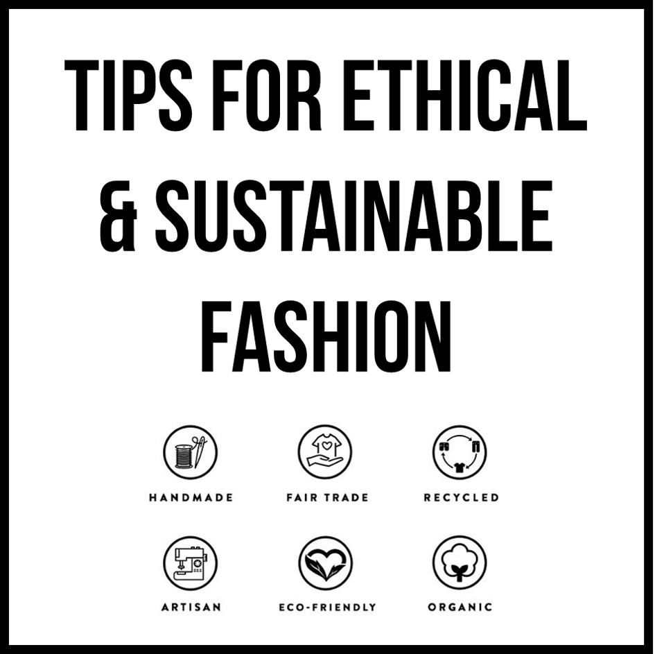 Tips to Shop Ethically & Sustainably