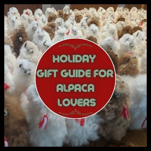 Holiday Gift Guide for Alpaca Lovers
