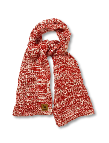 red and white, scarf, new