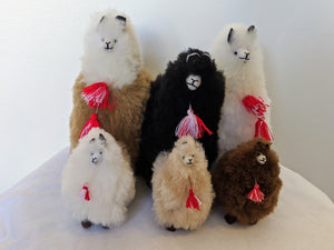 Alpaca Fluffies in many sizes and colors