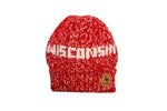 Wisconsin Beanie Red & White