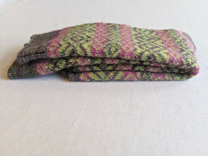 Fair Isle Monet Alpaca Sock