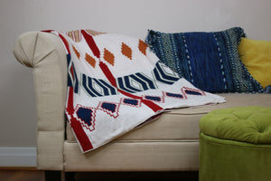 Milagros Blanket - Colored