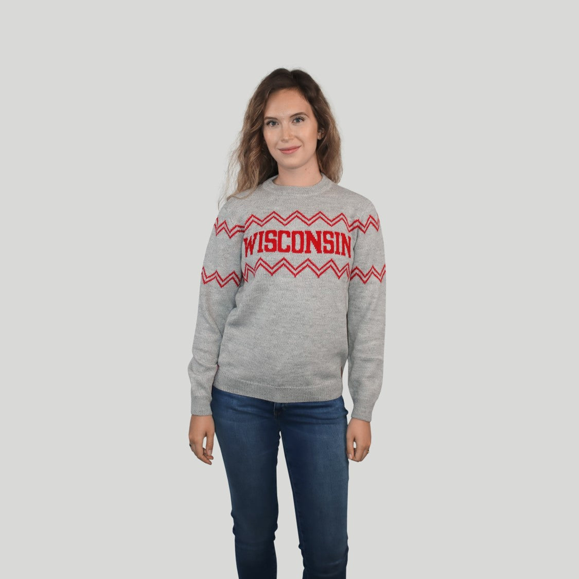 BUNDLE Wisconsin Crew Neck Sweaters
