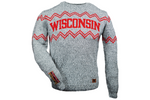 Wisconsin Crew Neck - Salt & Pepper