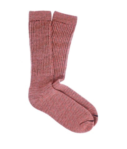Peach Therapeutic Alpaca Socks