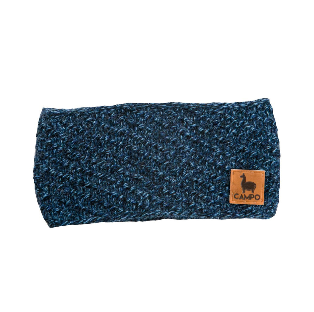 Alpaca Headband - Blue