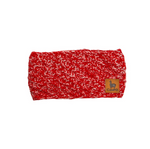 Alpaca Headband - Red & White