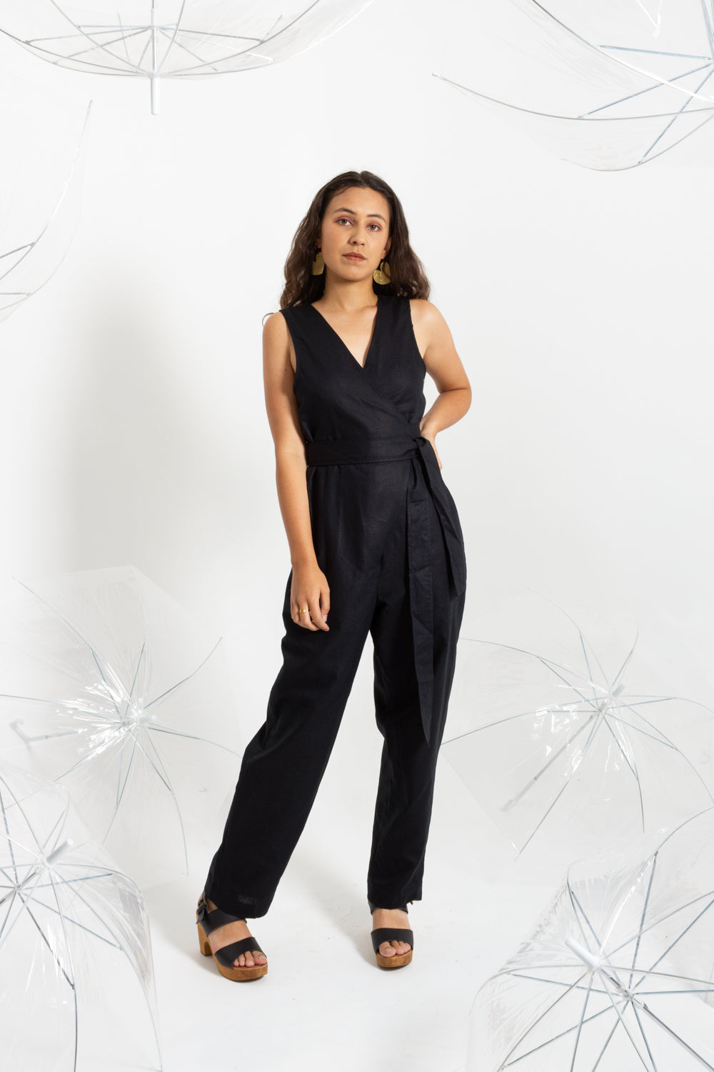 Coal Cocoon Jumpsuit