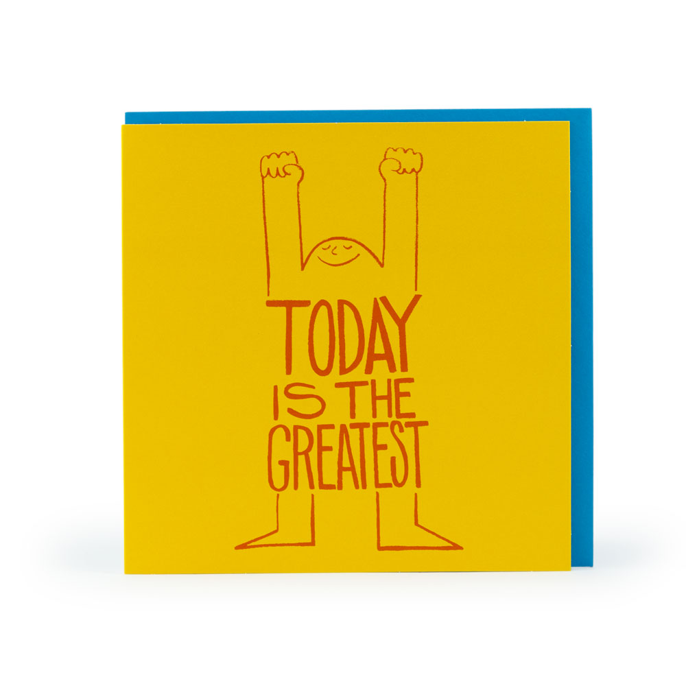 Today is the Greatest - CDR