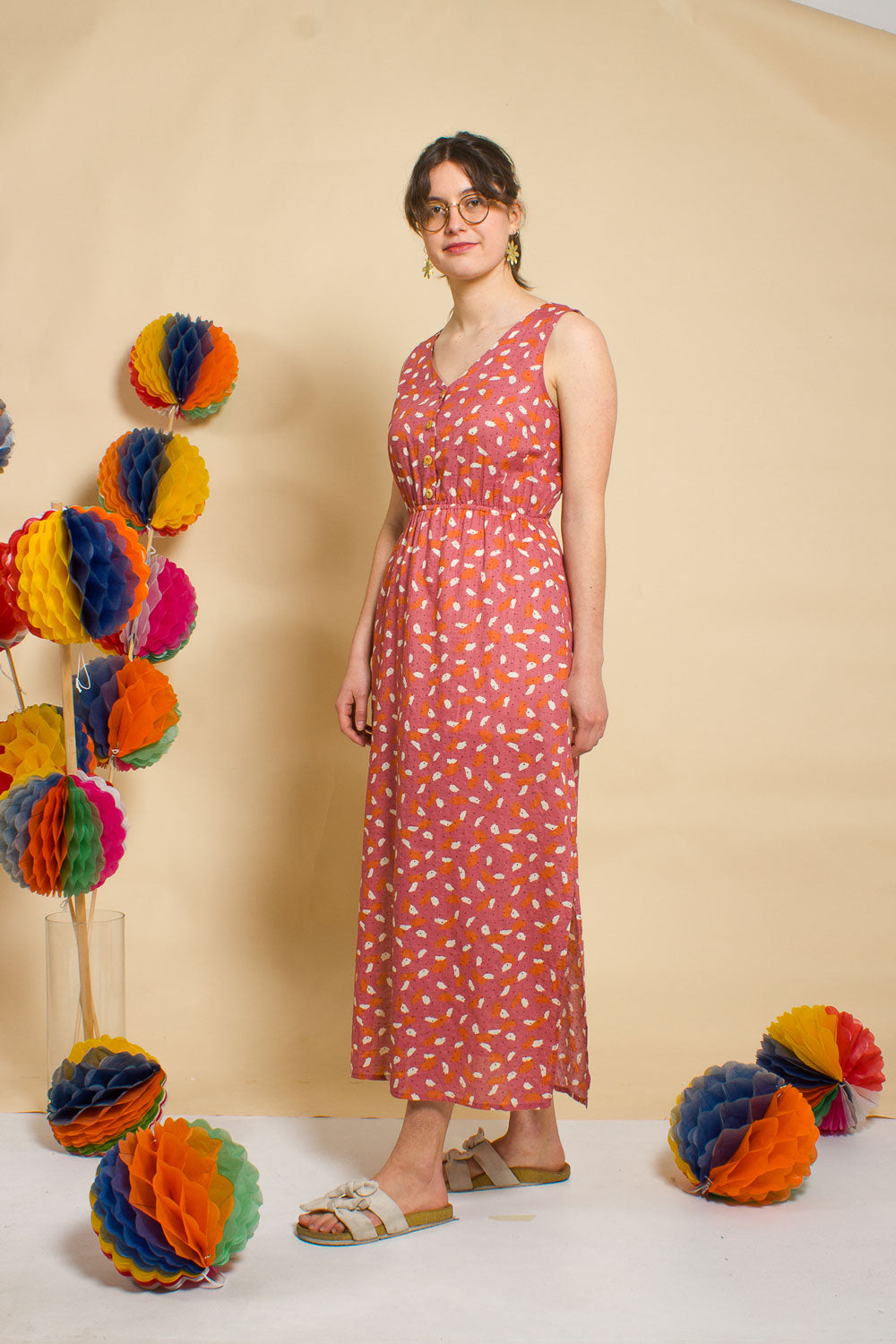 Confetti Maxi Dress