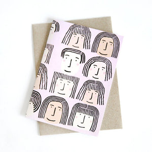 Fab Faces Card- Shuh