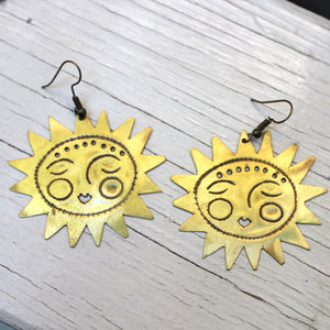 Tiki Gang Earrings