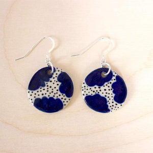 Blue Blossom Earrings- Shuh
