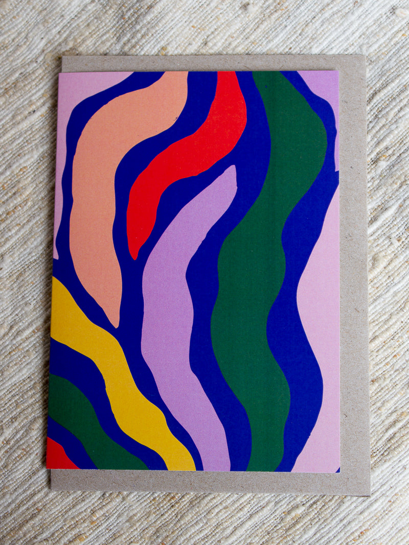 Flow Art Card - Claire Ritchie