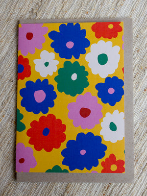 Flower Art Card - Claire Ritchie