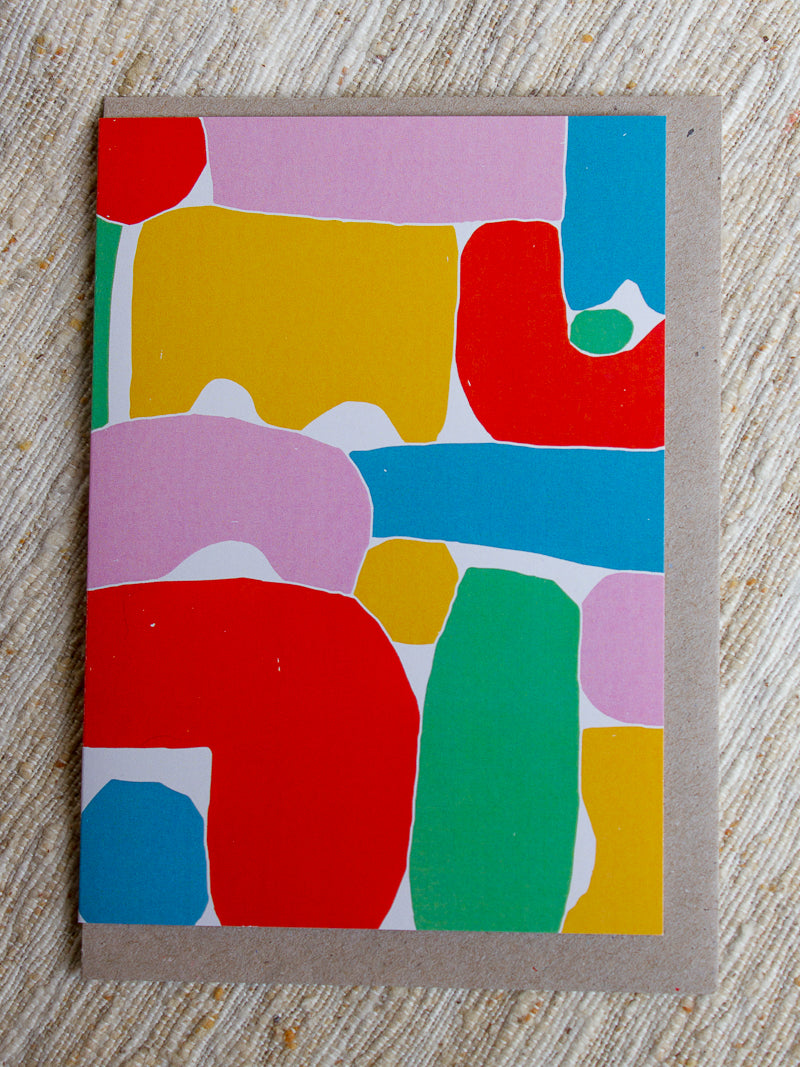 Form Art Card - Claire Ritchie