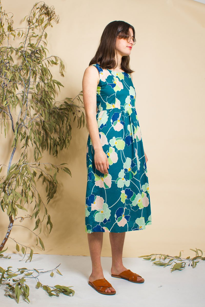 Pollination Future Midi Dress