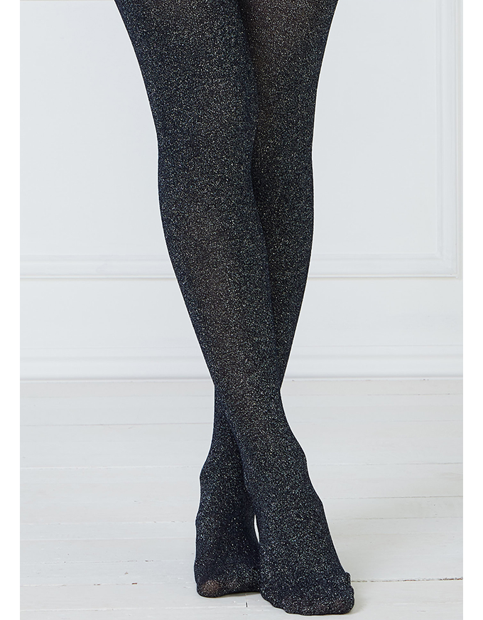 Lahna Tights - Navy Sparkle