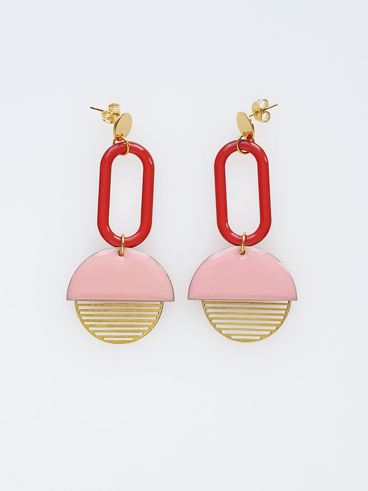 Visor Earrings- Various Colours