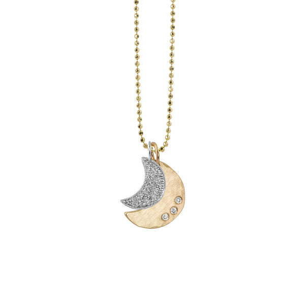 ALEM and ALER 14k Gold Moons