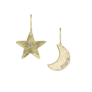 AURA and ALEM 14k Gold Earrings