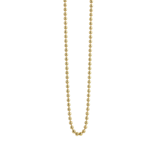 1.5mm 14k Gold Ball Chain