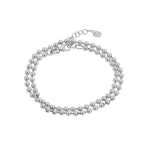 3.0mm 14k Gold Ball Chain Bracelet