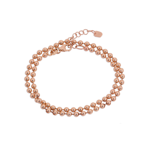 3.0mm 14k Gold Ball Chain Choker