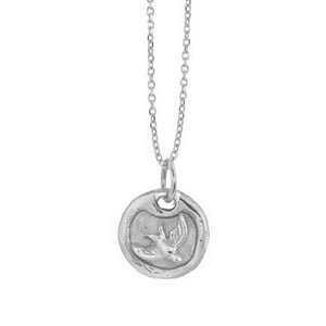 DALT 14k Gold Dog Tag Necklace