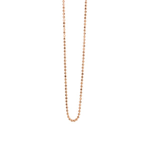 1.0mm 14k Gold Diamond Cut Ball Chain