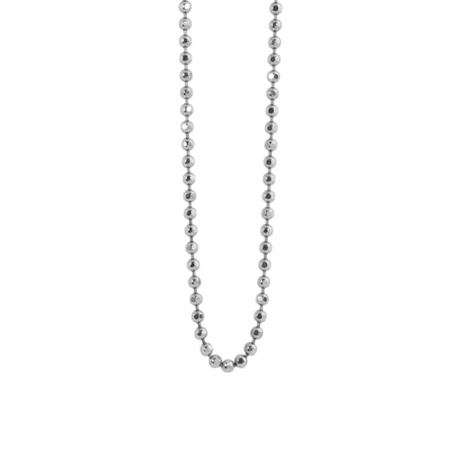 1.8mm 14k Gold Diamond Cut Ball Chain